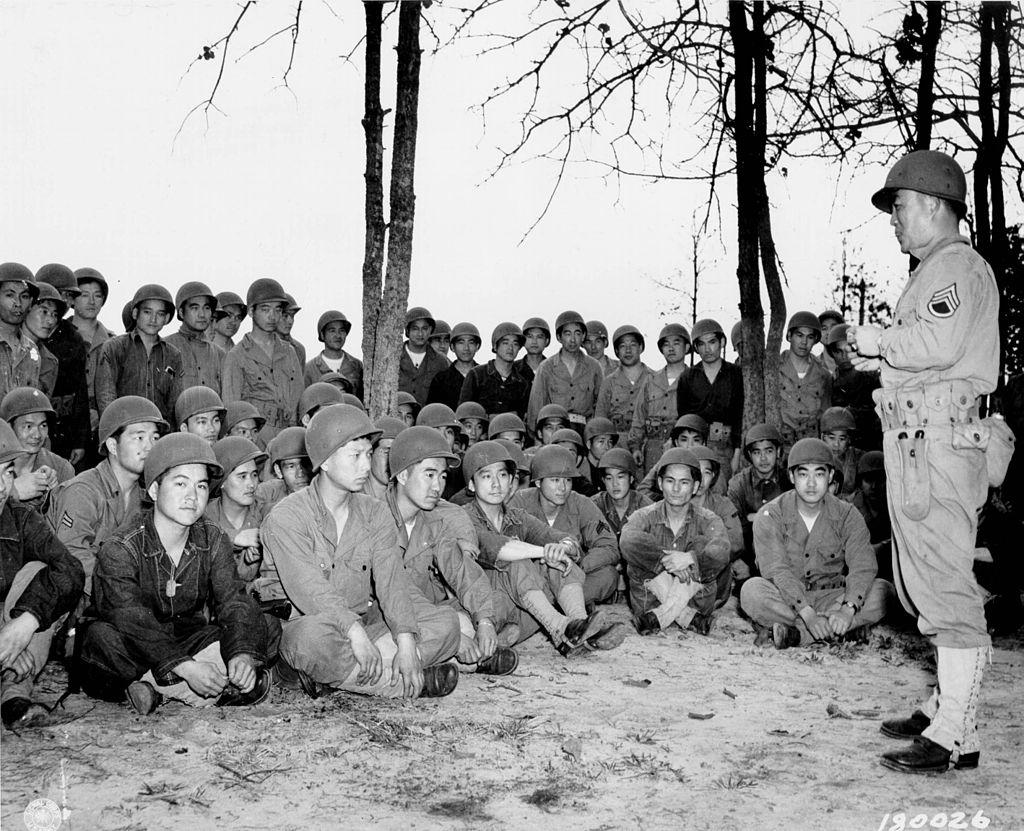 100th Infantry Battalion Training