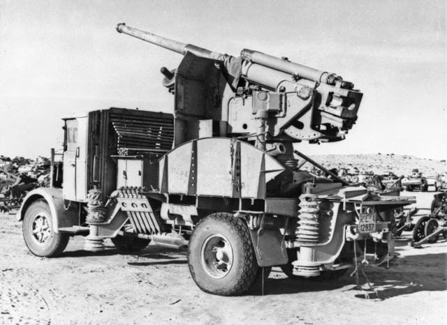 Italian 90-53 gun