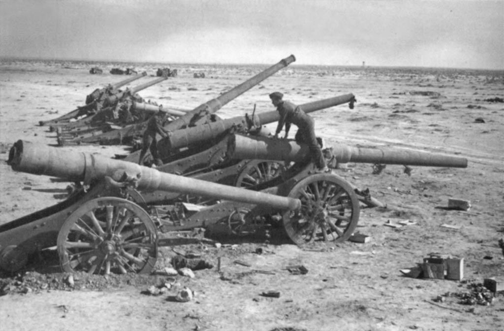 Italian 49/35 and 120/25 guns