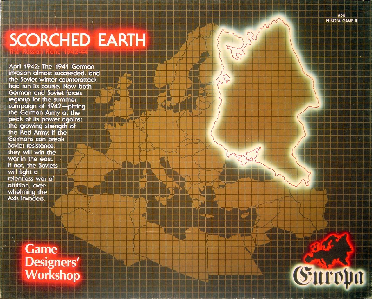 Scorched Earth - Box Art (Front)