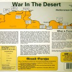 War in the Desert - Back of Box