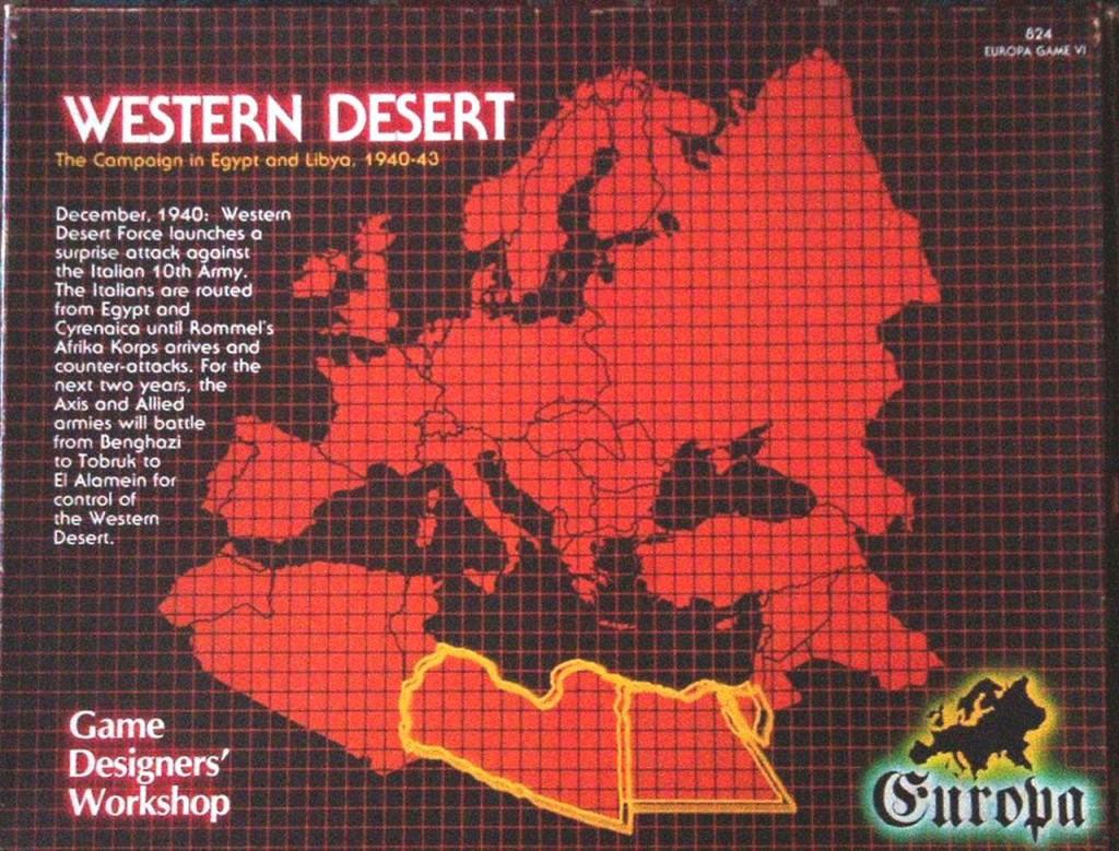 Western Desert - Front Cover
