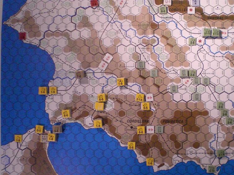 Defending Andalucia