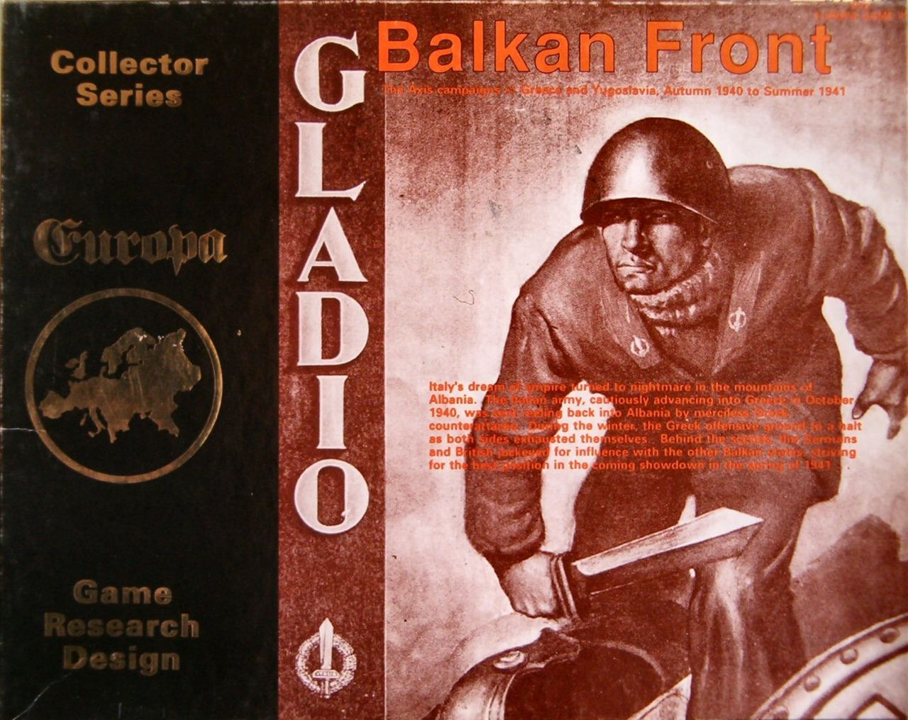 Balkan Front - Box Front