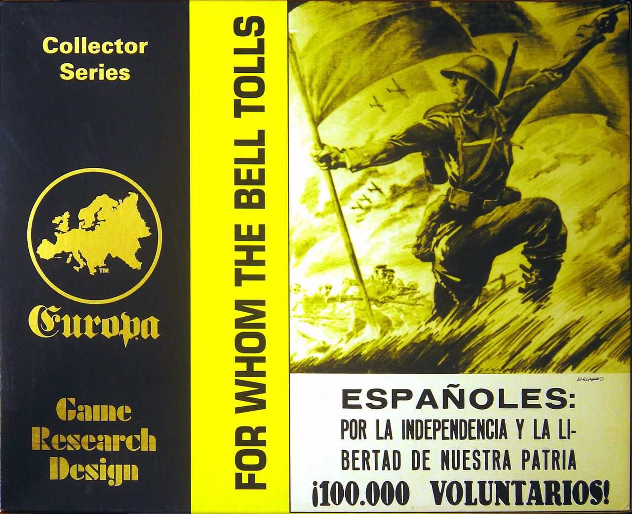 For Whom the Bell Tolls - Box Cover Front