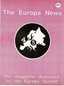 The Europa Magazine #5 - Cover