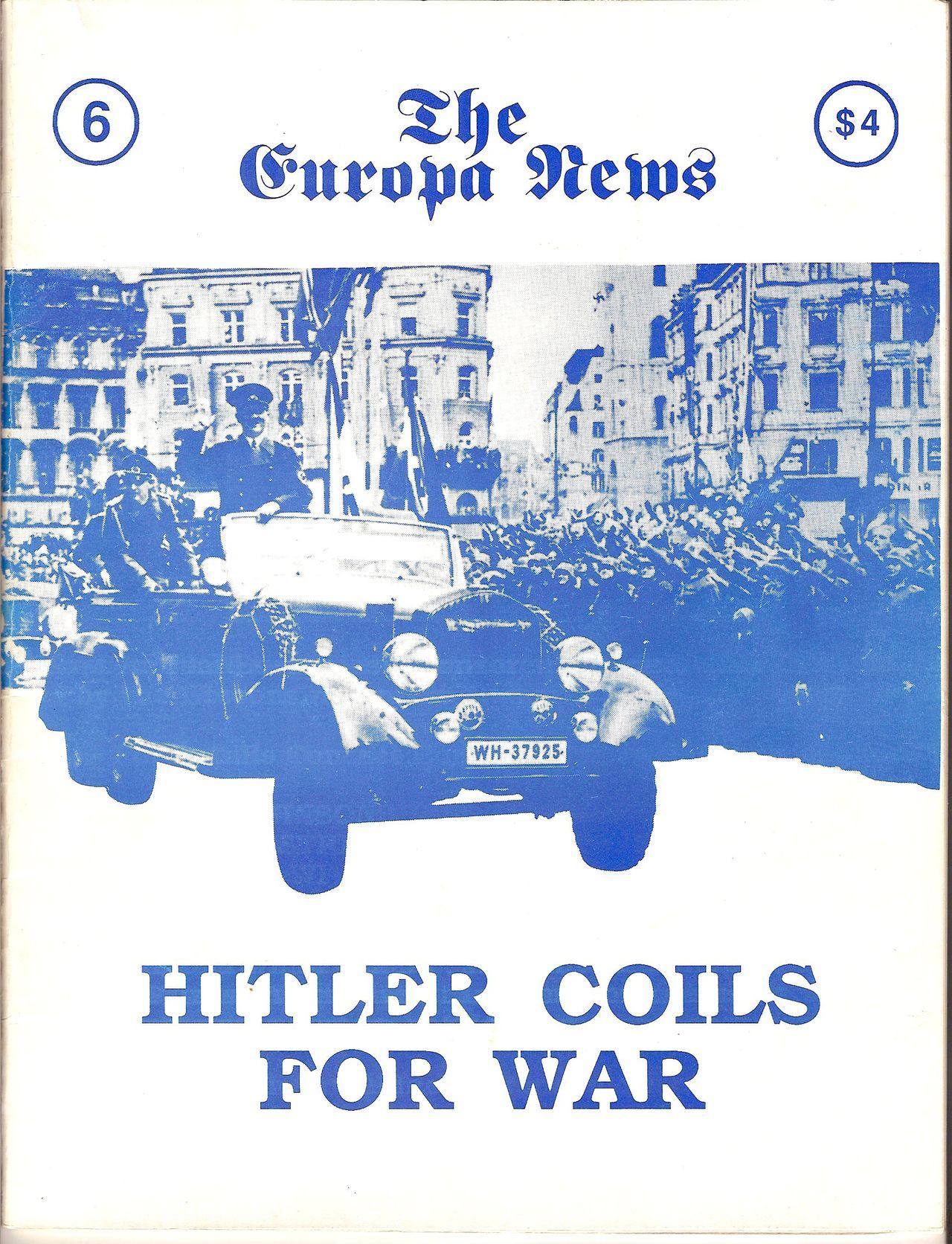 The Europa Magazine #6 - Cover
