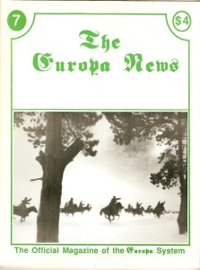 The Europa Magazine #7 - Cover
