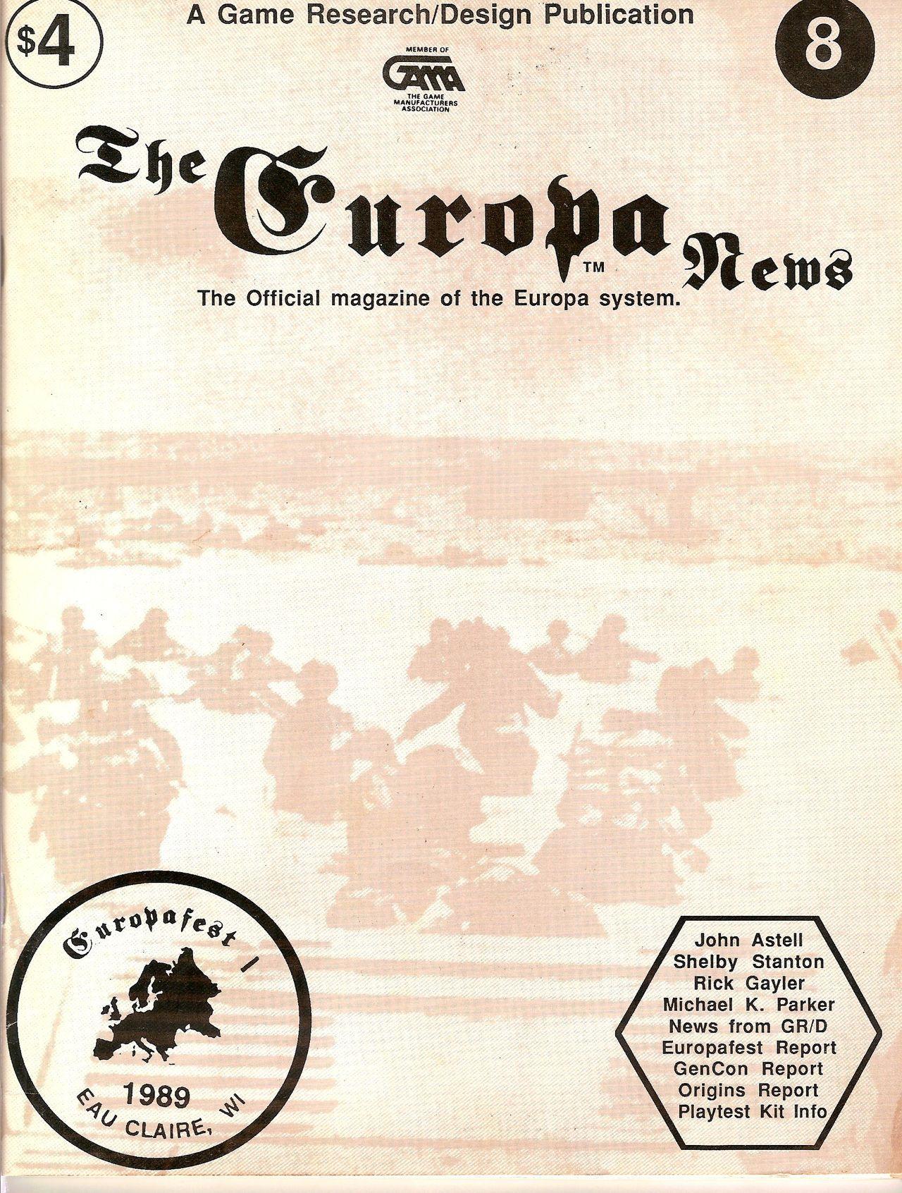 The Europa Magazine #8 - Cover