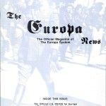 The Europa Magazine #9 - Cover