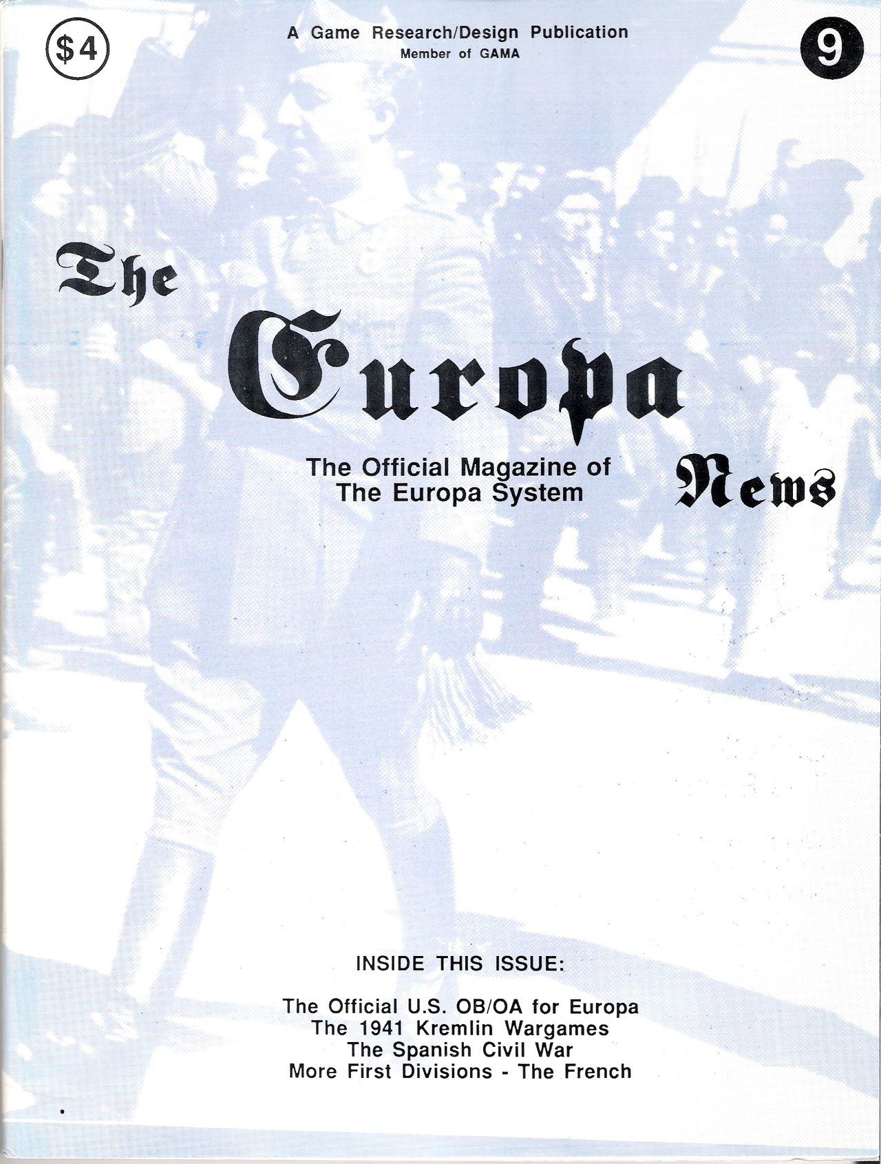 The Europa Magazine #9 - Cover