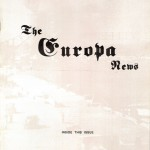 The Europa Magazine #10 - Cover