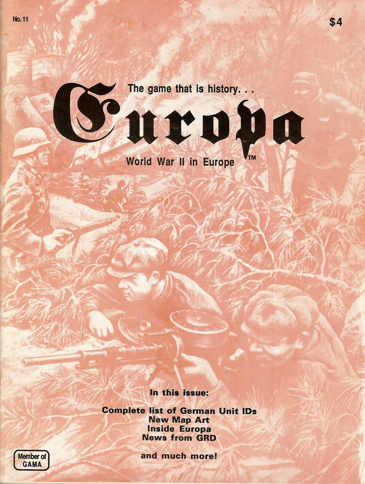 The Europa Magazine #11 - Cover