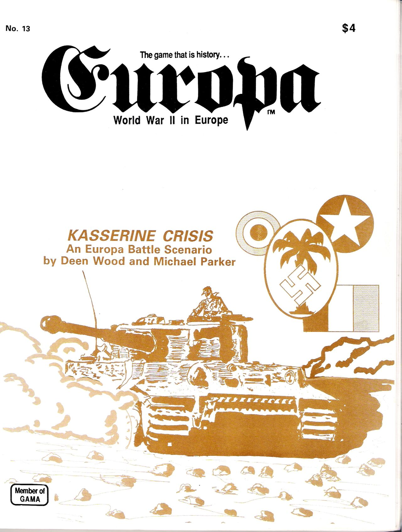 The Europa Magazine #13 - Cover