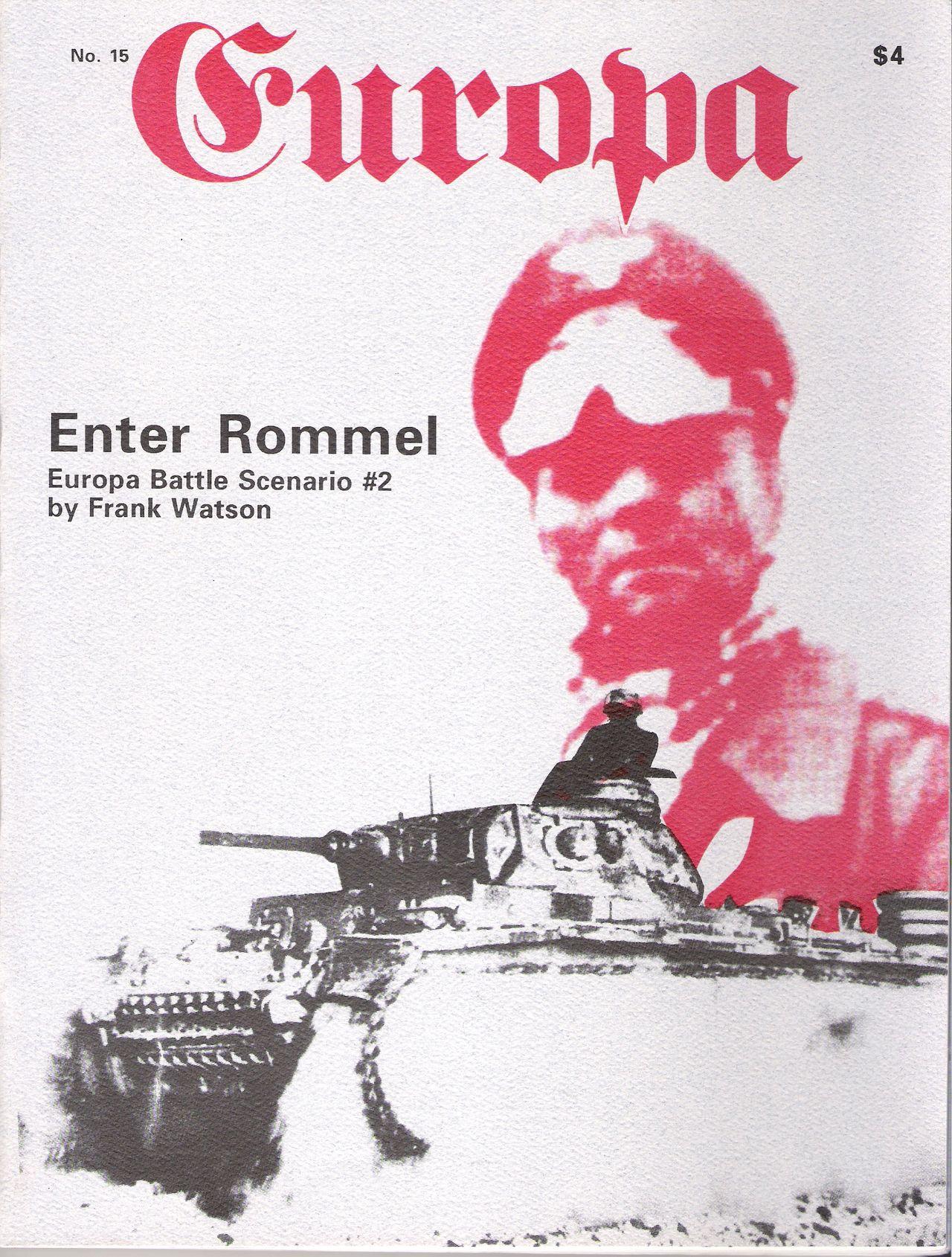 The Europa Magazine #15 - Cover
