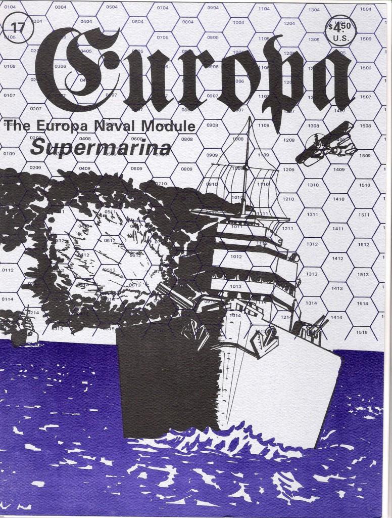 The Europa Magazine #17 - Cover