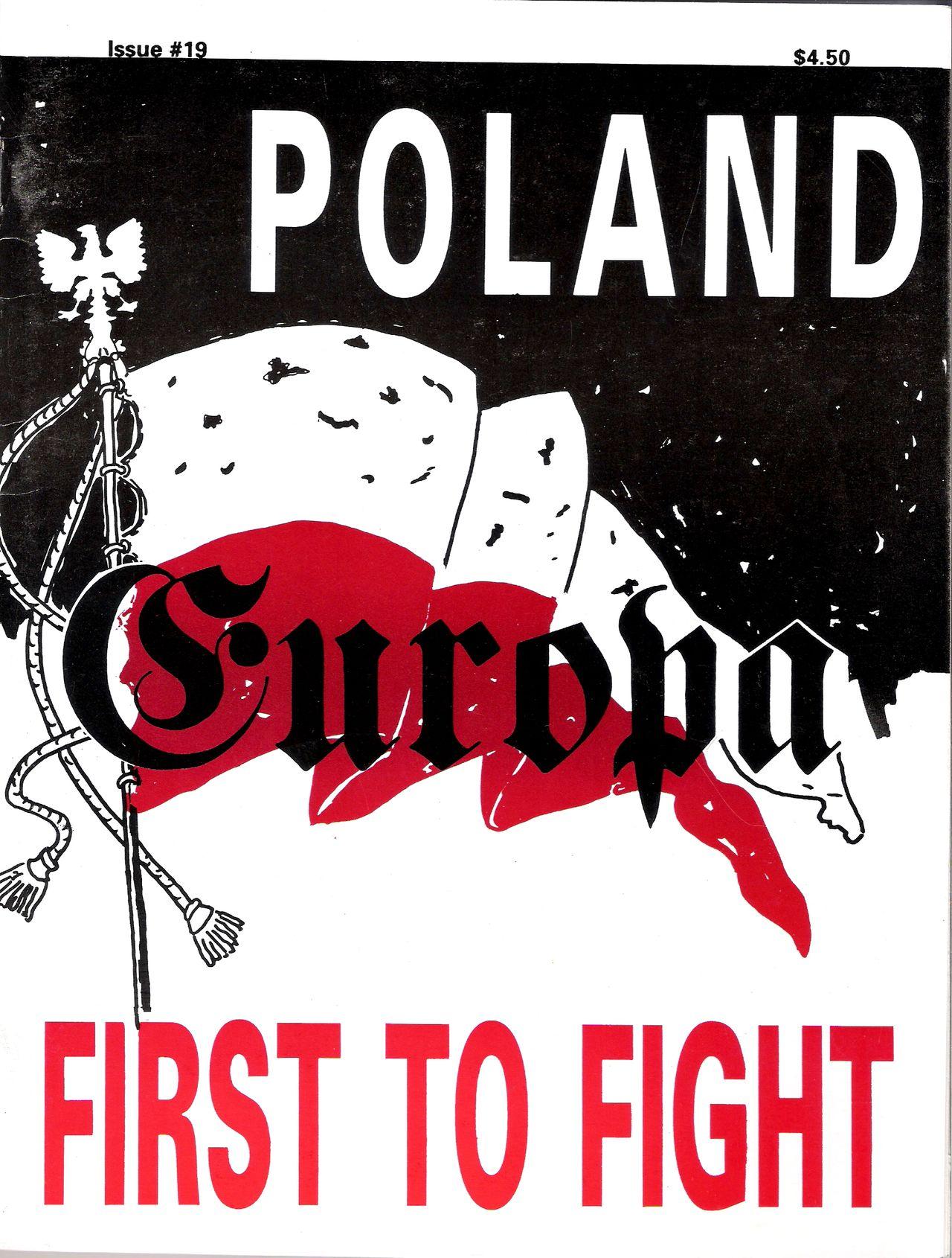 The Europa Magazine #19 - Cover