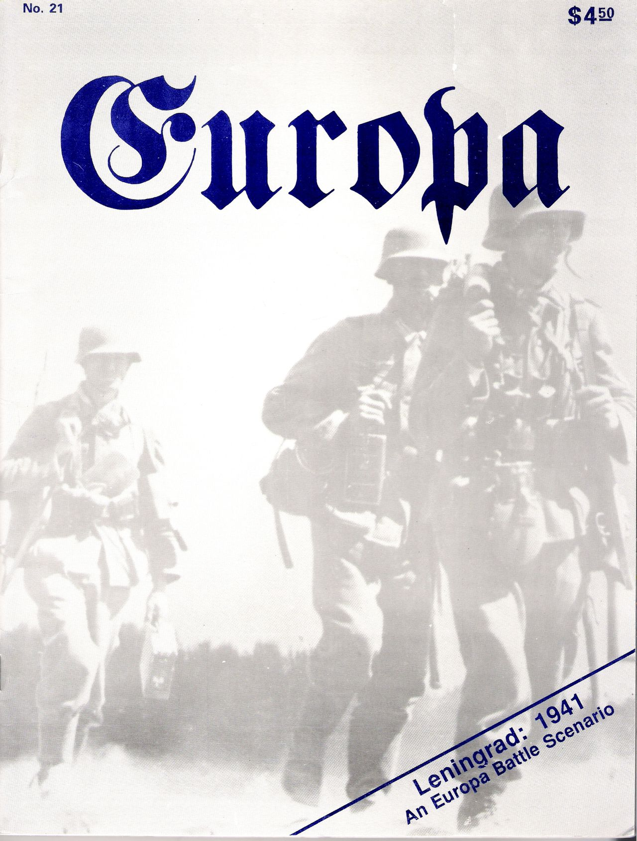 The Europa Magazine #21 - Cover