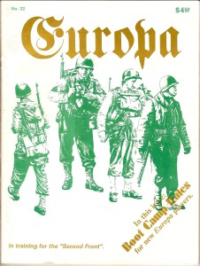 The Europa Magazine #22 - Cover