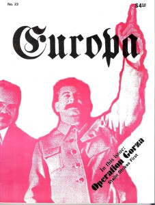 The Europa Magazine #23 - Cover