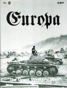 The Europa Magazine #24 - Cover