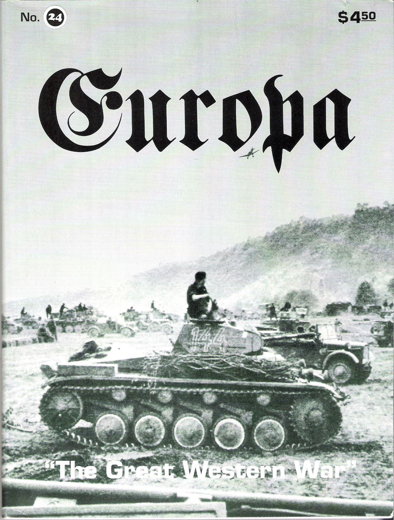 The Europa Magazine #24 - Cover