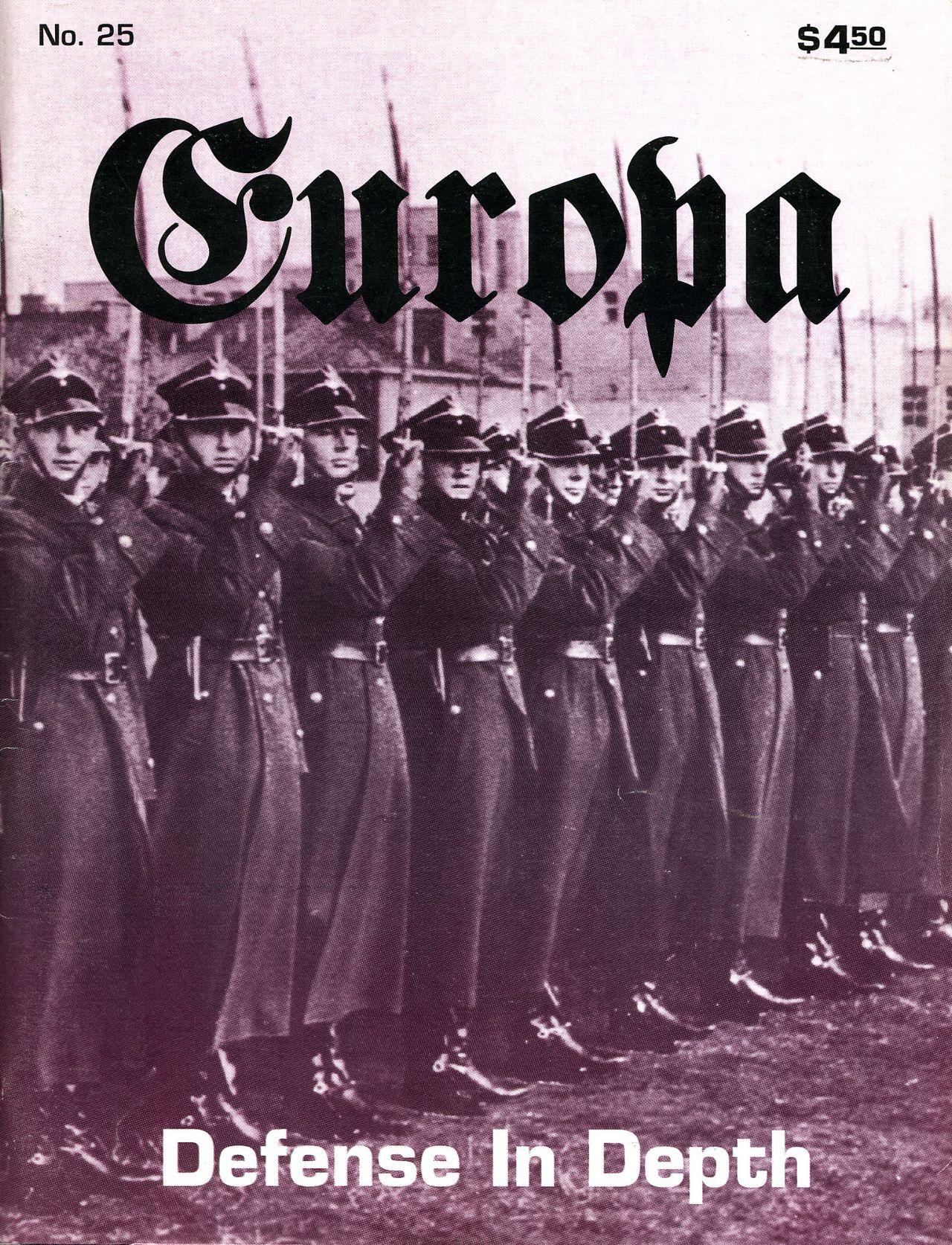 The Europa Magazine #25 - Cover