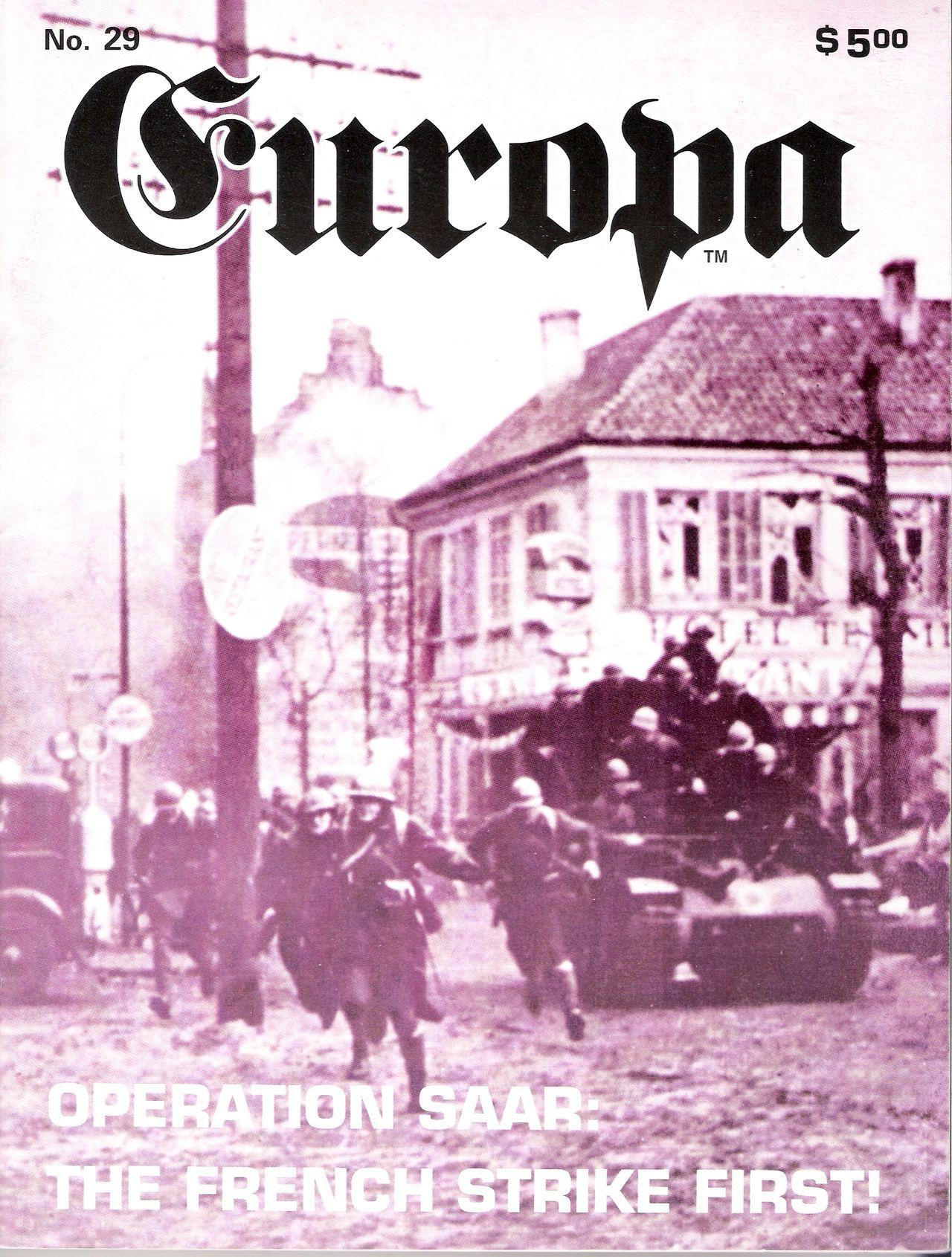 The Europa Magazine #29 - Cover