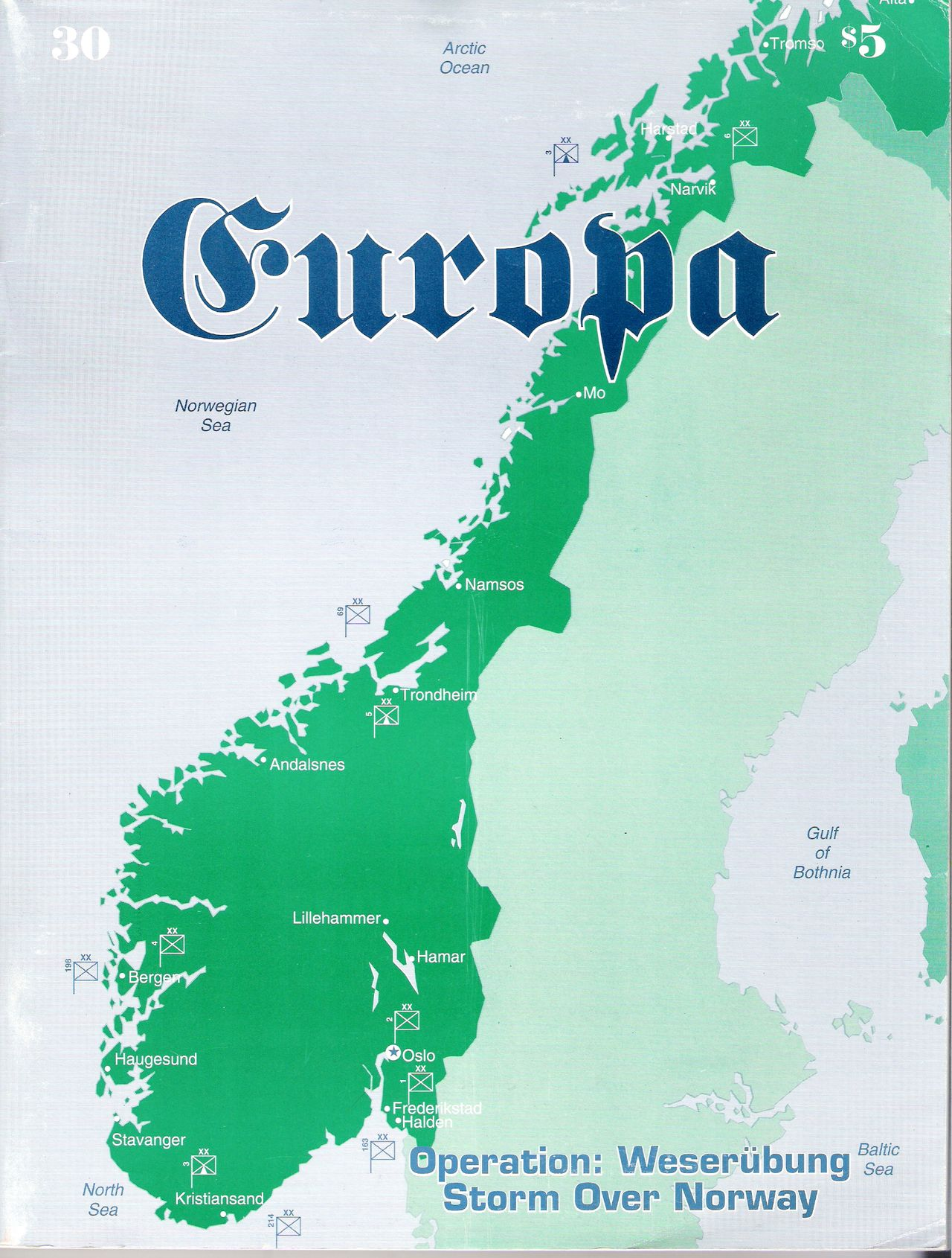 The Europa Magazine #30 - Cover