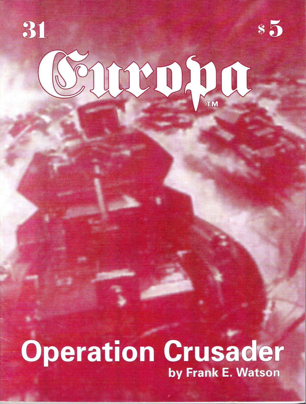 The Europa Magazine #31 - Cover