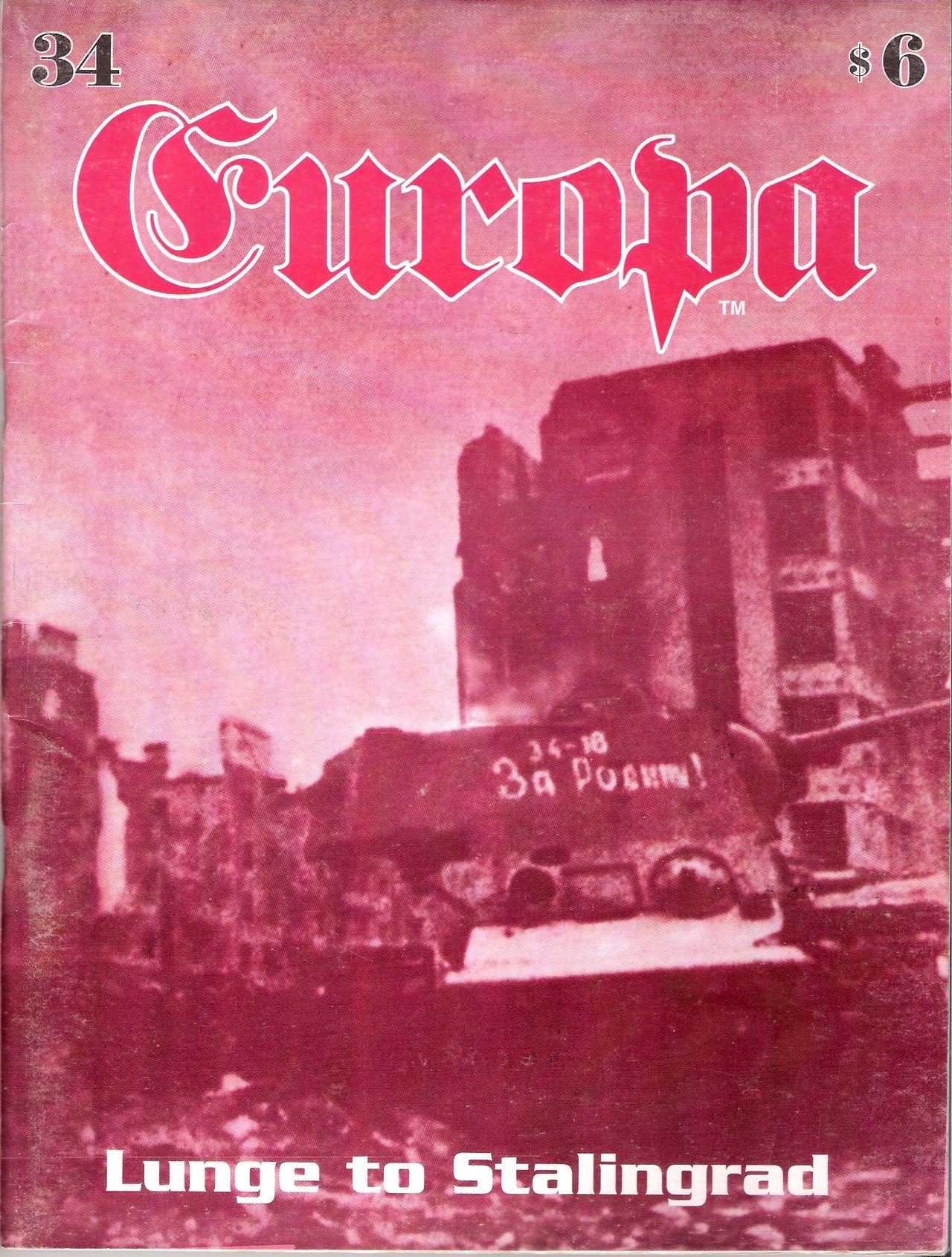 The Europa Magazine #34 - Cover
