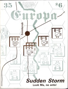 The Europa Magazine #35 - Cover