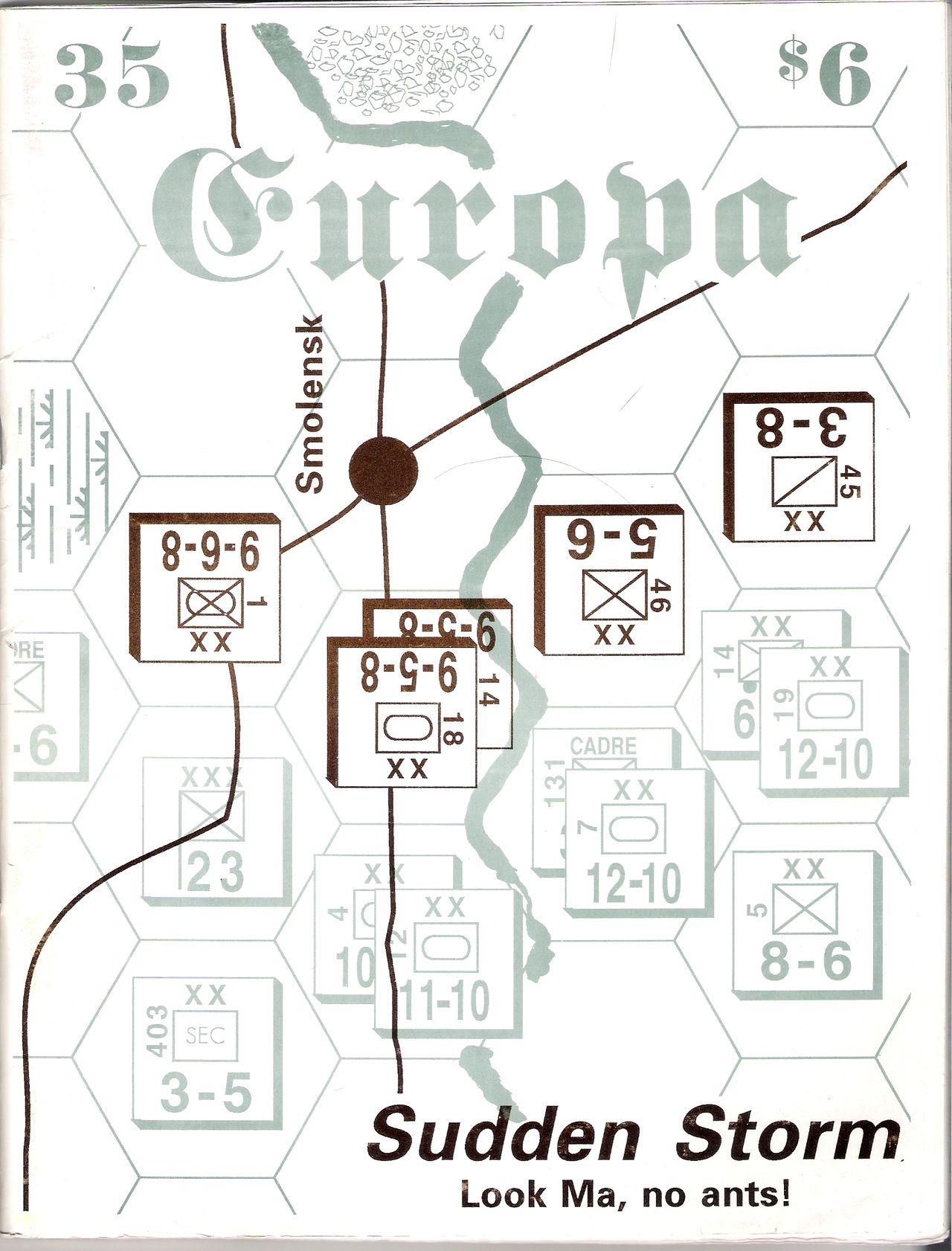 The Europa Magazine #35 - Cover