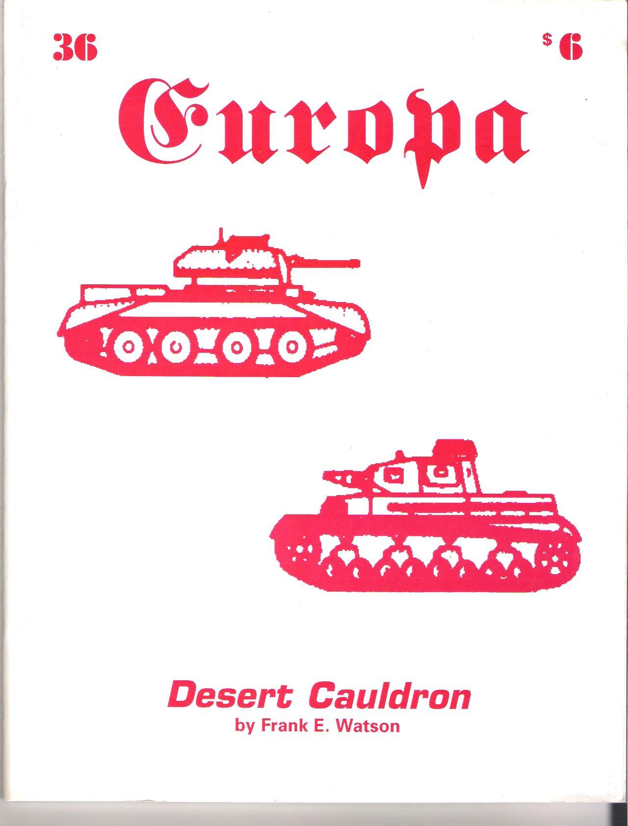 The Europa Magazine #36 - Cover