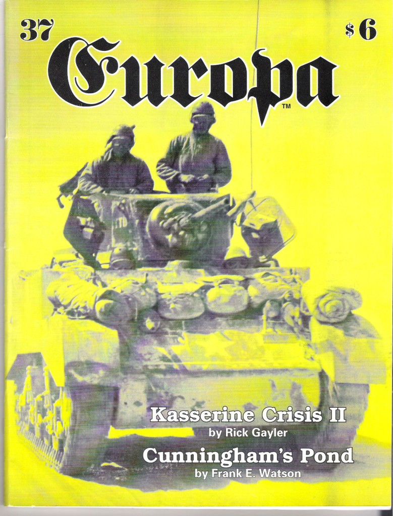 The Europa Magazine #37 - Cover