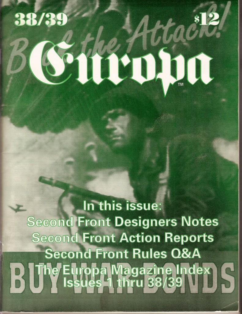 The Europa Magazine #38/39 - Cover