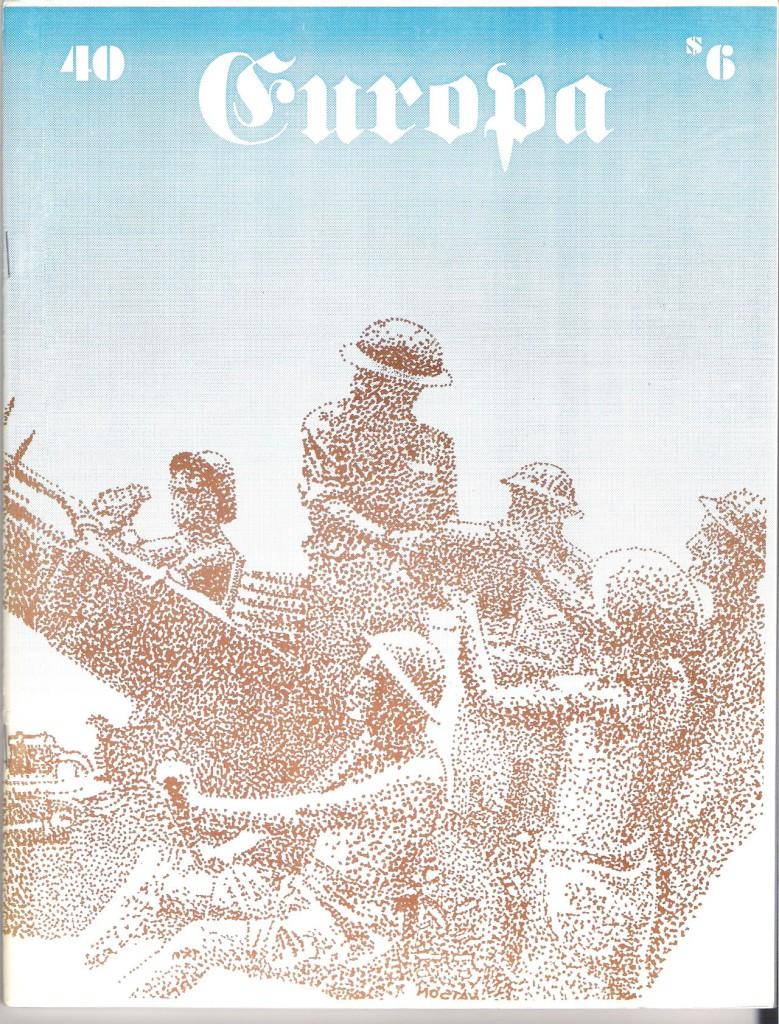 The Europa Magazine #40 - Cover