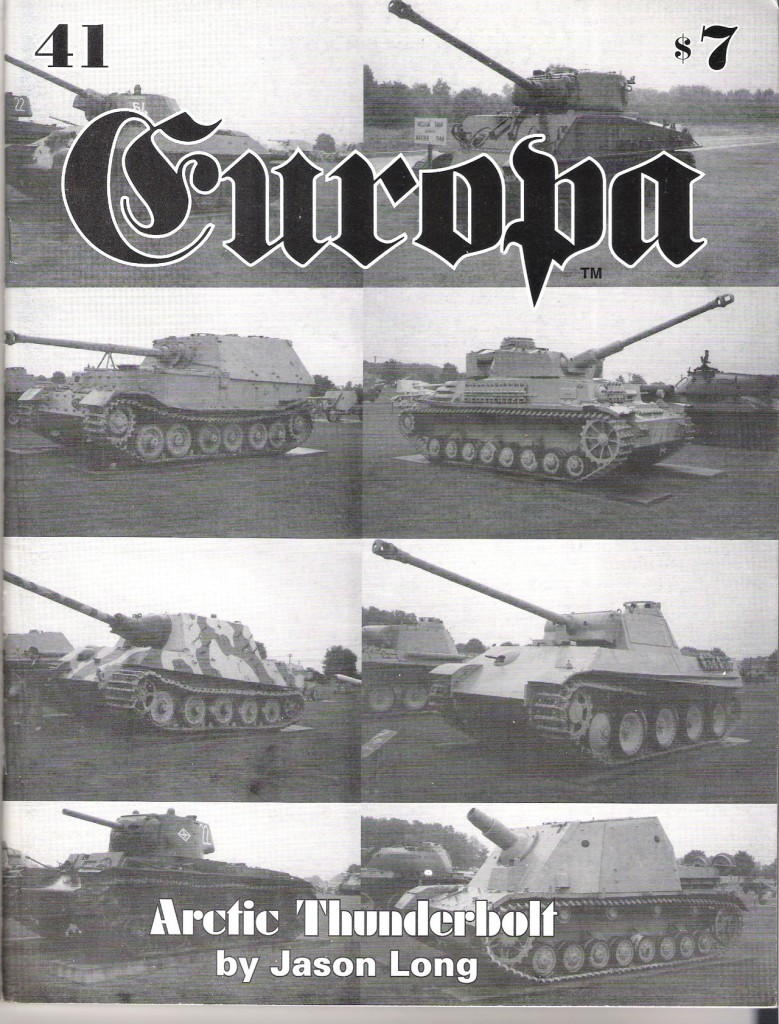 The Europa Magazine #41 - Cover