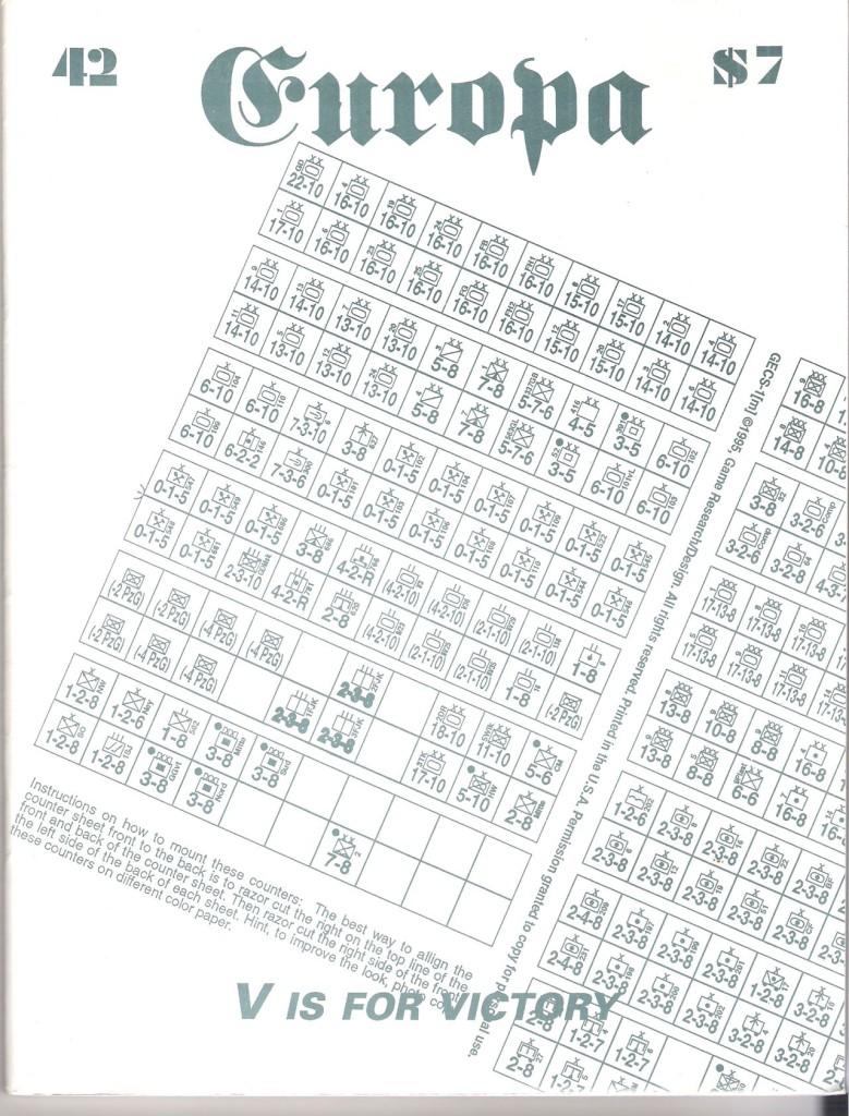 The Europa Magazine #42 - Cover