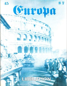 The Europa Magazine #45 - Cover