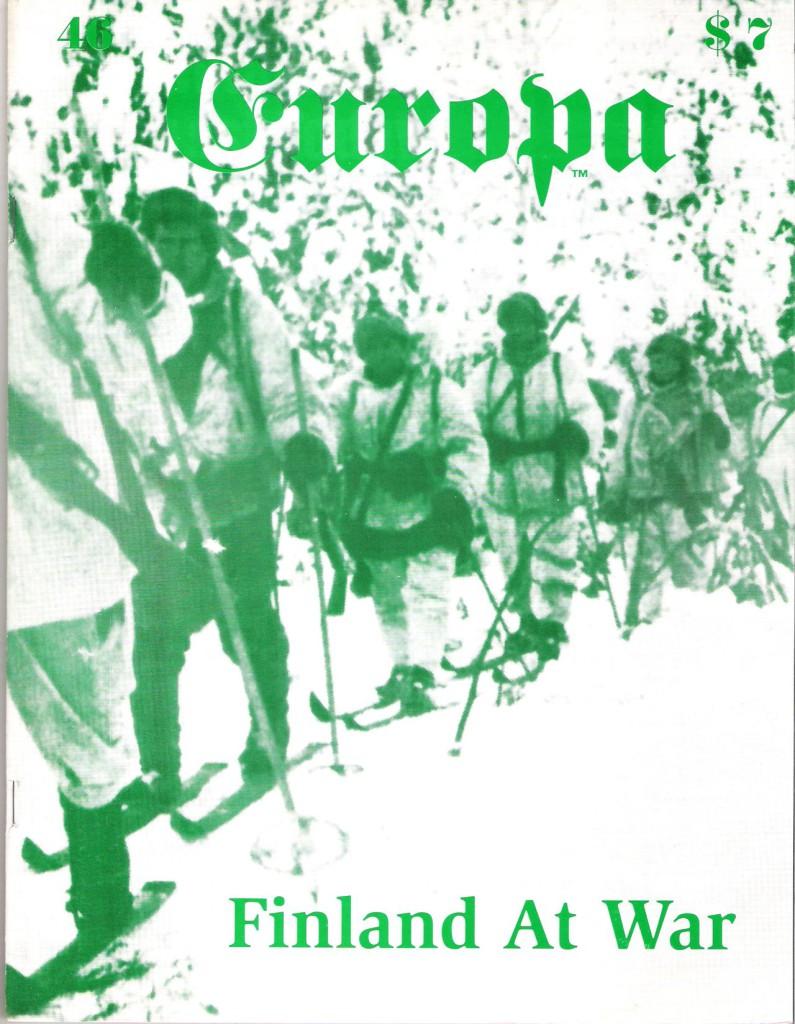 The Europa Magazine #46 - Cover