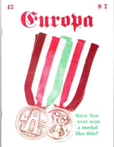 The Europa Magazine #47 - Cover
