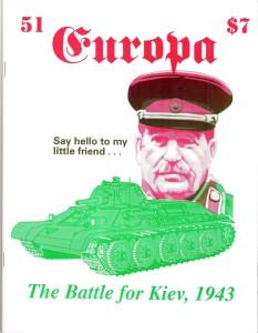The Europa Magazine # 51 - Cover