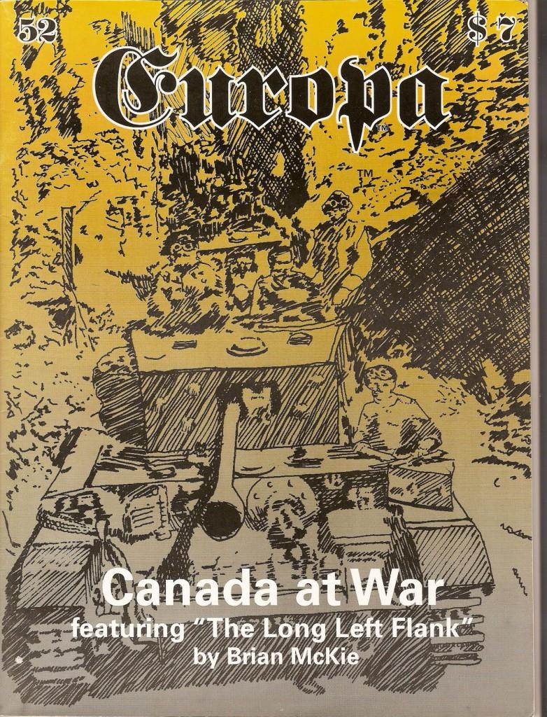 The Europa Magazine # 52 - Cover