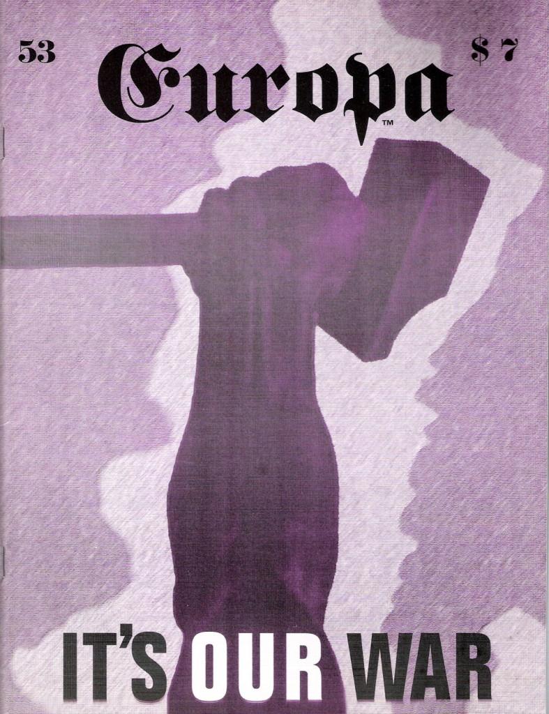 The Europa Magazine # 53 - Cover