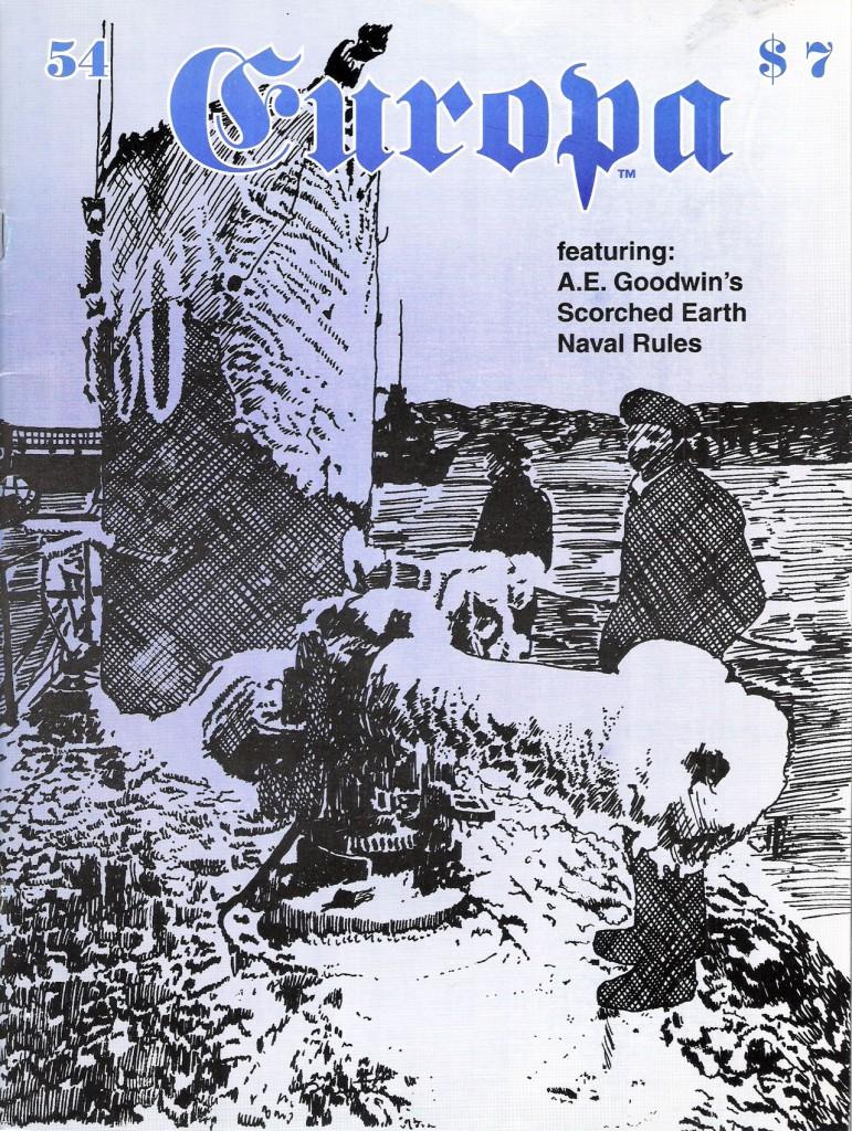 The Europa Magazine # 54 - Cover