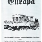 The Europa Magazine # 57 - Cover