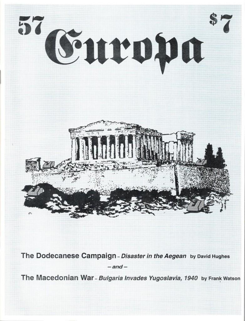 The Europa Magazine # 57 - Cover