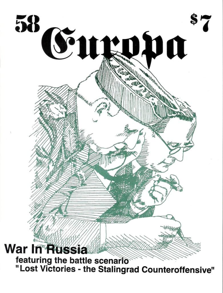 The Europa Magazine # 58 - Cover