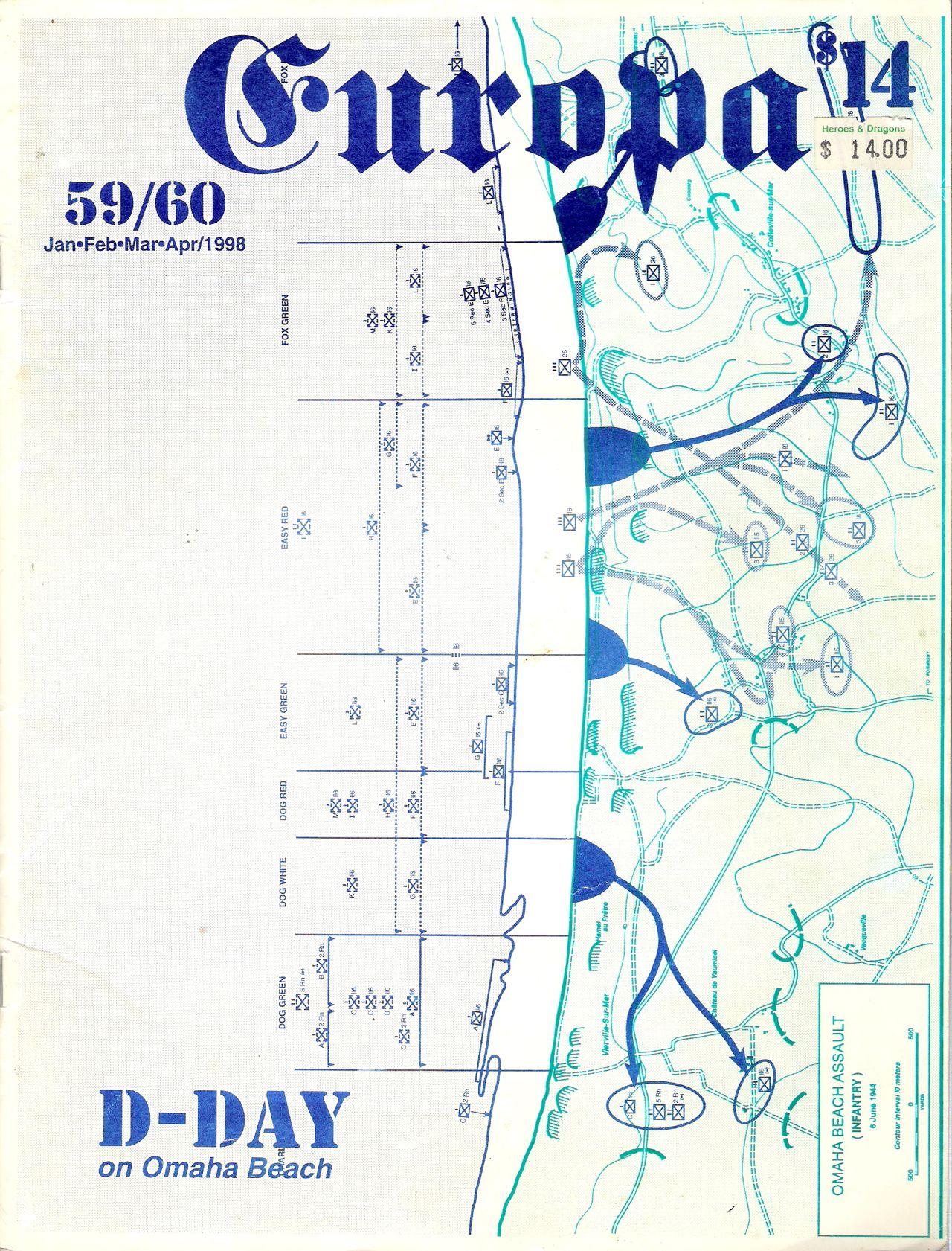 The Europa Magazine #59/60 - Cover